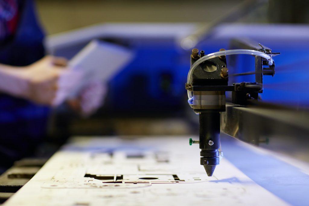 Lasercut industry